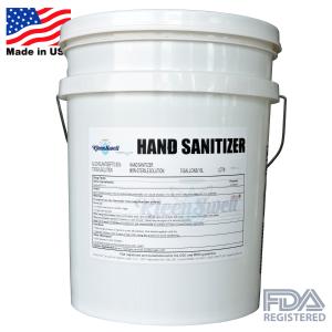 KleenSwell™ Liquid Hand Sanitizer 5-Gallon Pail by Hygienic Labs, LLC