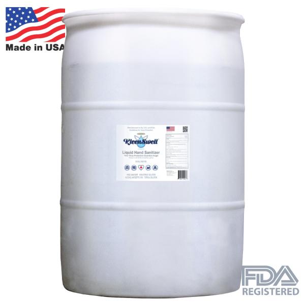 KleenSwell™ Liquid Hand Sanitizer - 50-Gallon Drum